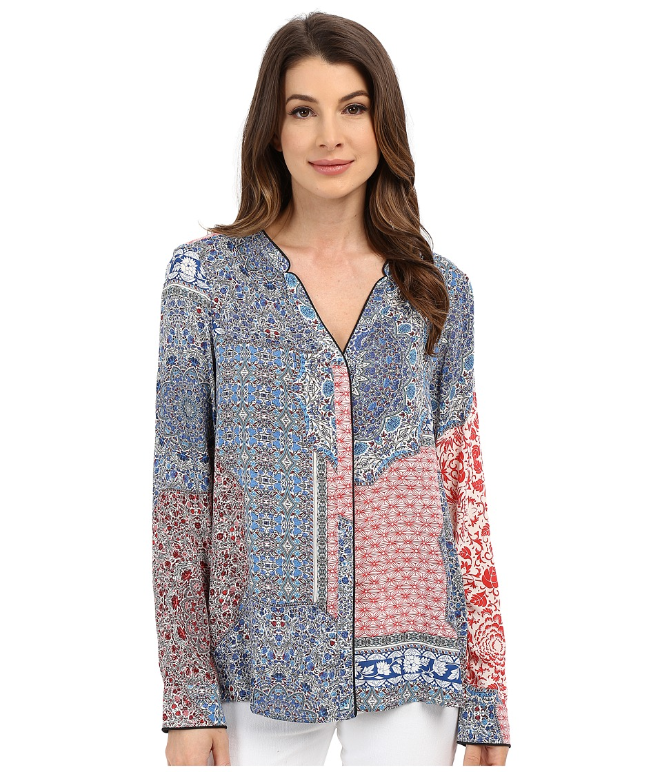 Sanctuary - Market Cafe Shirt (Market Collage) Women's Clothing