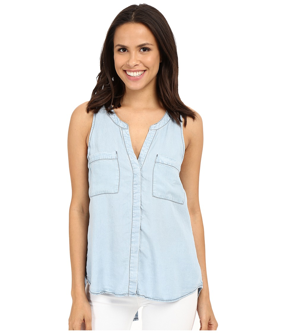 Sanctuary - Craft Shell Top (Kaskade Wash) Women's Sleeveless