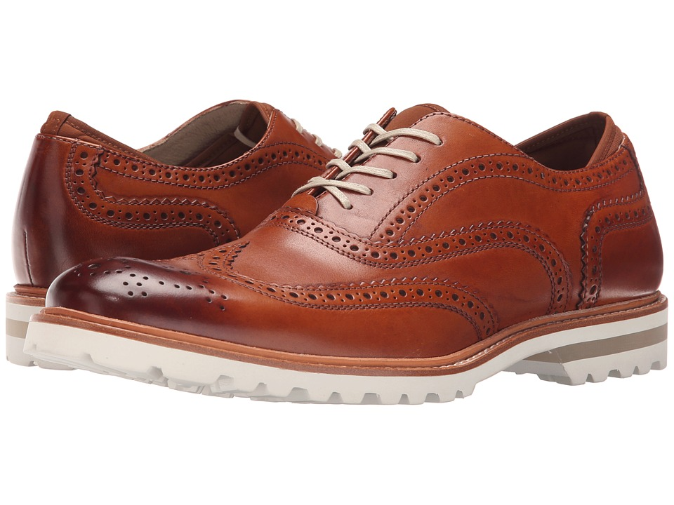 Kenneth Cole New York - Click N Clack (Cognac) Men's Shoes