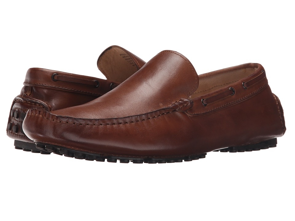 Kenneth Cole New York - Peer Pressure (Cognac) Men's Slip on Shoes