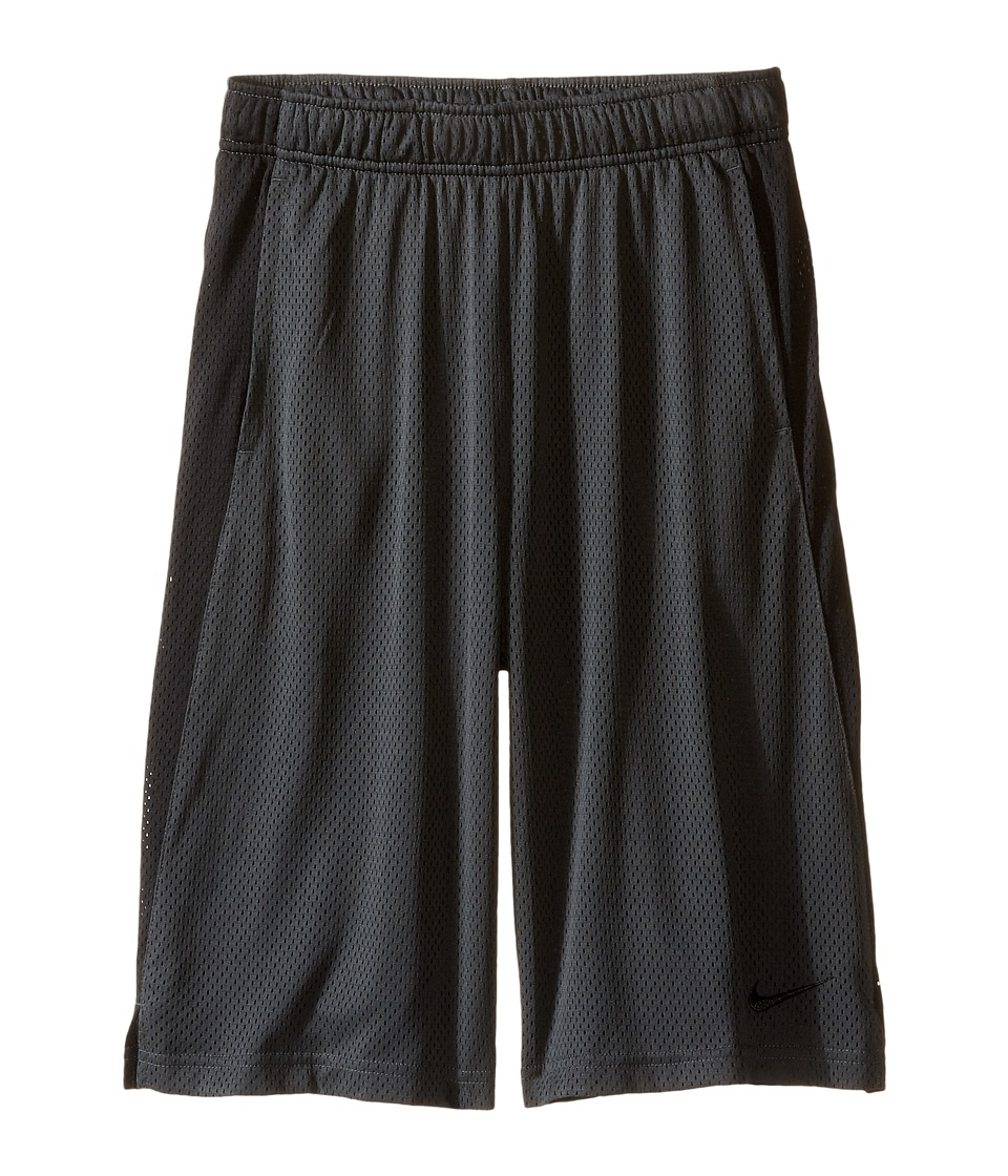 Nike Kids - YA Monster Mesh Shorts (Little Kids/Big Kids) (Anthracite/Black/Black) Boy's Shorts