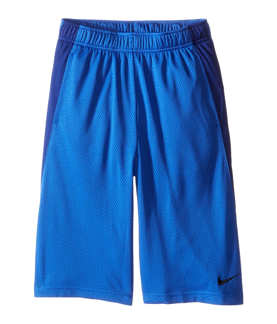 Nike Kids - YA Monster Mesh Shorts (Little Kids/Big Kids) (Game Royal/Deep Royal Blue/Black) Boy's Shorts