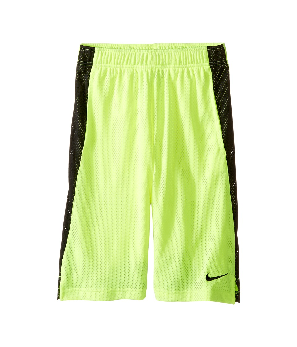 Nike Kids - YA Monster Mesh Shorts (Little Kids/Big Kids) (Volt/Black/Black) Boy's Shorts