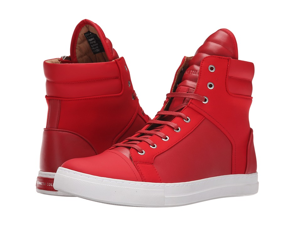 Kenneth Cole New York - Double Header (Red) Men's Lace-up Boots