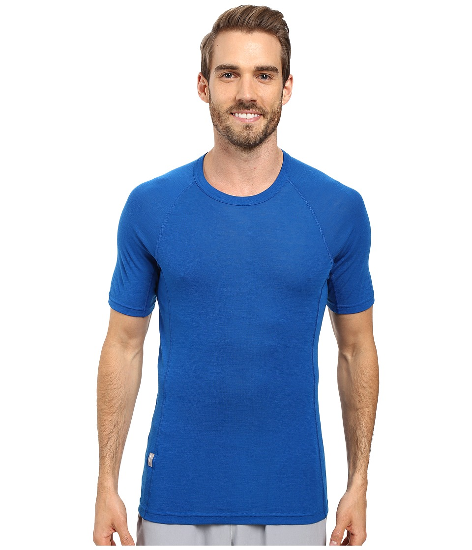 Icebreaker - Everyday Short Sleeve Crewe (Awesome) Men's Short Sleeve Pullover