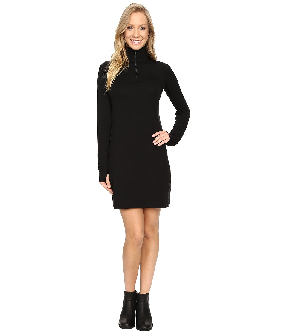 Icebreaker Affinity Dress (Black/Jet Heather/Black) Women
