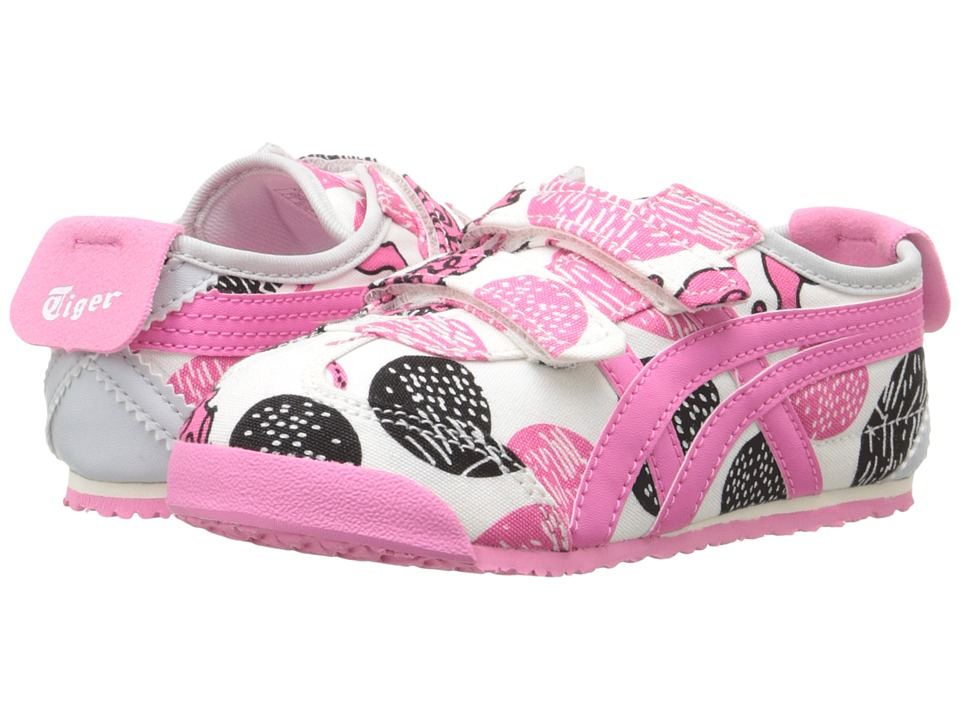 Onitsuka Tiger Kids by Asics - Mexico 66 Baja (Toddler) (Tora/Momoiro) Girls Shoes