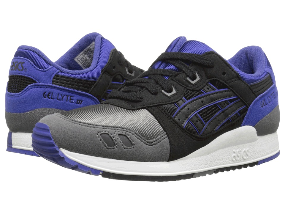 ASICS Kids - Gel-Lyte III GS (Big Kid) (Black/Black) Kids Shoes