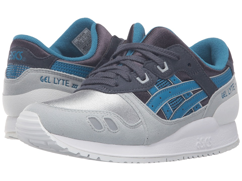 Onitsuka Tiger Kids by Asics - Gel-Lyte III GS (Big Kid) (Indian Ink/Sea Port) Kids Shoes