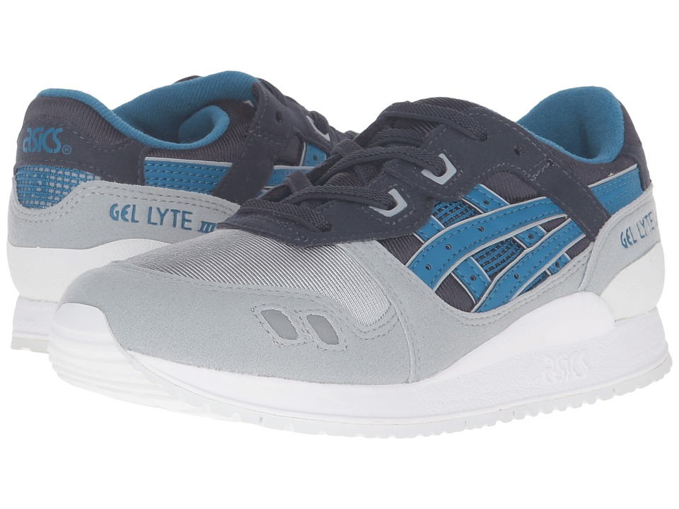 Onitsuka Tiger Kids by Asics - Gel-Lyte III PS (Little Kid) (Indian Ink/Sea Port) Boy's Shoes