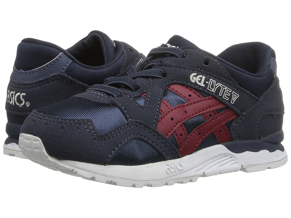 Onitsuka Tiger Kids by Asics - Gel-Lyte V TS (Toddler) (Indian Ink/Burgundy) Boys Shoes