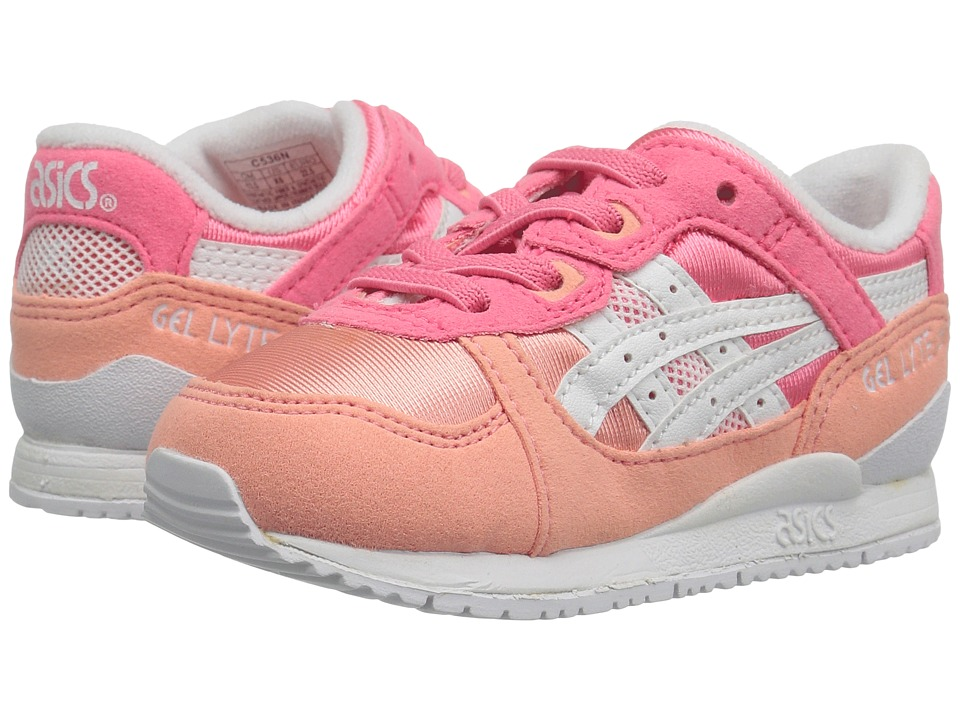 Onitsuka Tiger Kids by Asics - Gel-Lyte III (Toddler) (Guava/White) Girls Shoes