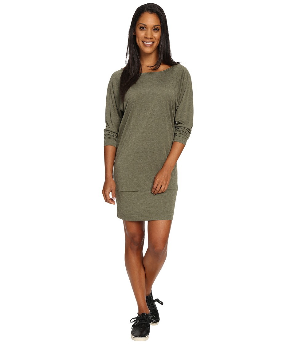 Lole - Madden Dress (Khaki Heather) Women's Dress