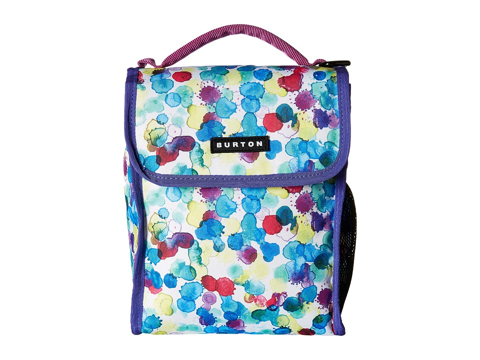 Burton - Lunch Sack (Rainbow Drops Print) Wallet