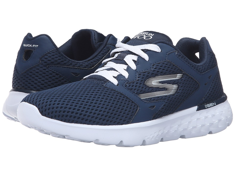 SKECHERS - Go Run 400 (Navy/White) Women's Running Shoes
