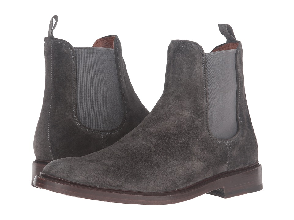 Frye Jones Chelsea (Charcoal Oiled Suede) Men