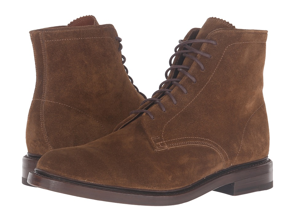 Frye - Jones Lace-Up (Chestnut Oiled Suede) Men's Boots
