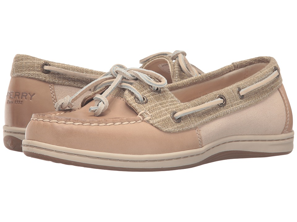 Sperry Top-Sider Firefish Metallic Silver (Linen) Women