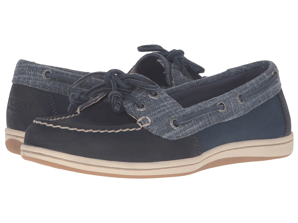 Sperry Firefish Metallic Silver (Navy) Women