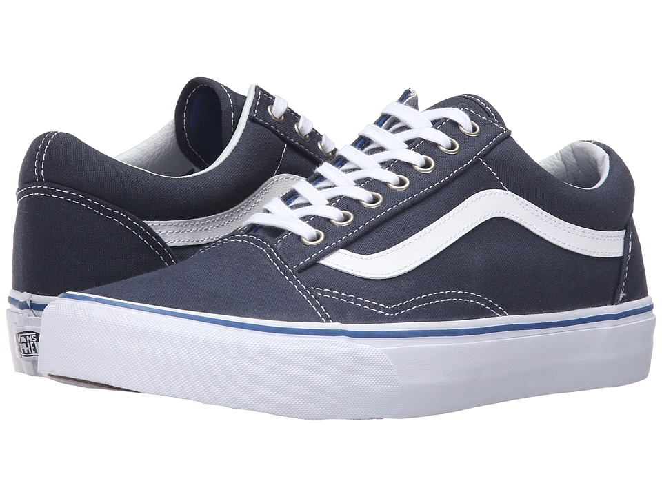 Vans - Old Skool (Midnight Navy/True White) Skate Shoes