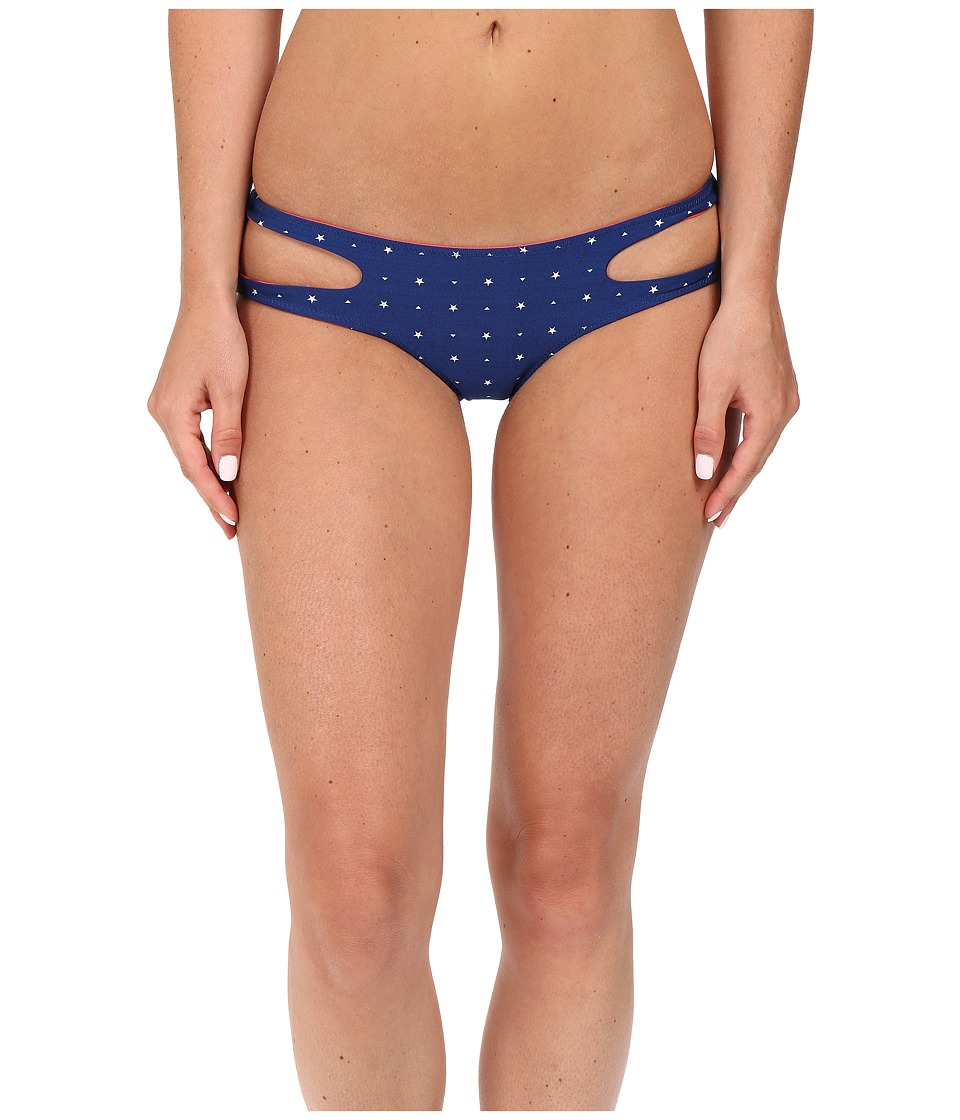 Rip Curl - Stardom Luxe Hipster Bottom (Blue) Women's Swimwear