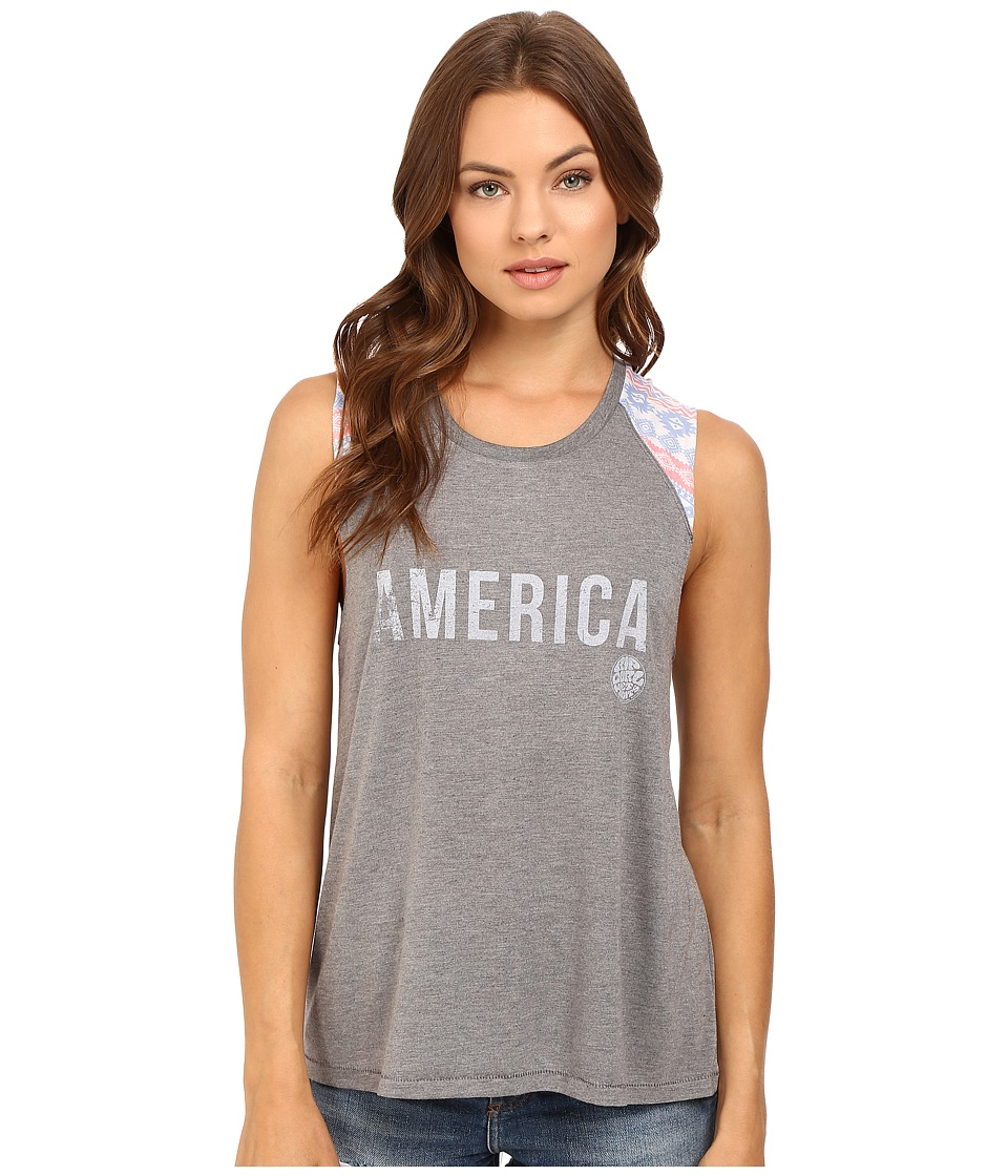 Rip Curl - Stardom Muscle Tee (Heather Grey) Women's Sleeveless