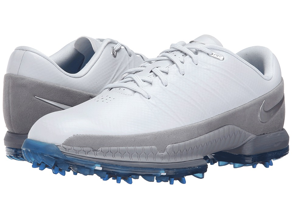 Nike Golf - Air Zoom Attack (Pure Platinum/Metallic Silver/Wolf Grey) Men's Golf Shoes