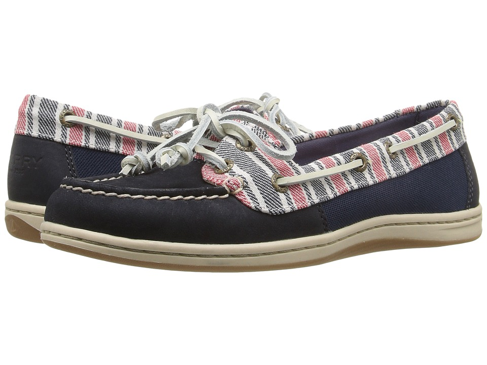 Sperry Firefish Stripe (Navy) Women