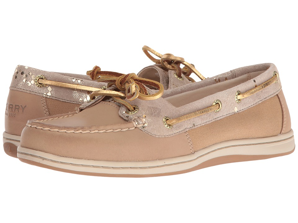 Sperry - Firefish Snake (Linen) Women's Lace Up Moc Toe Shoes