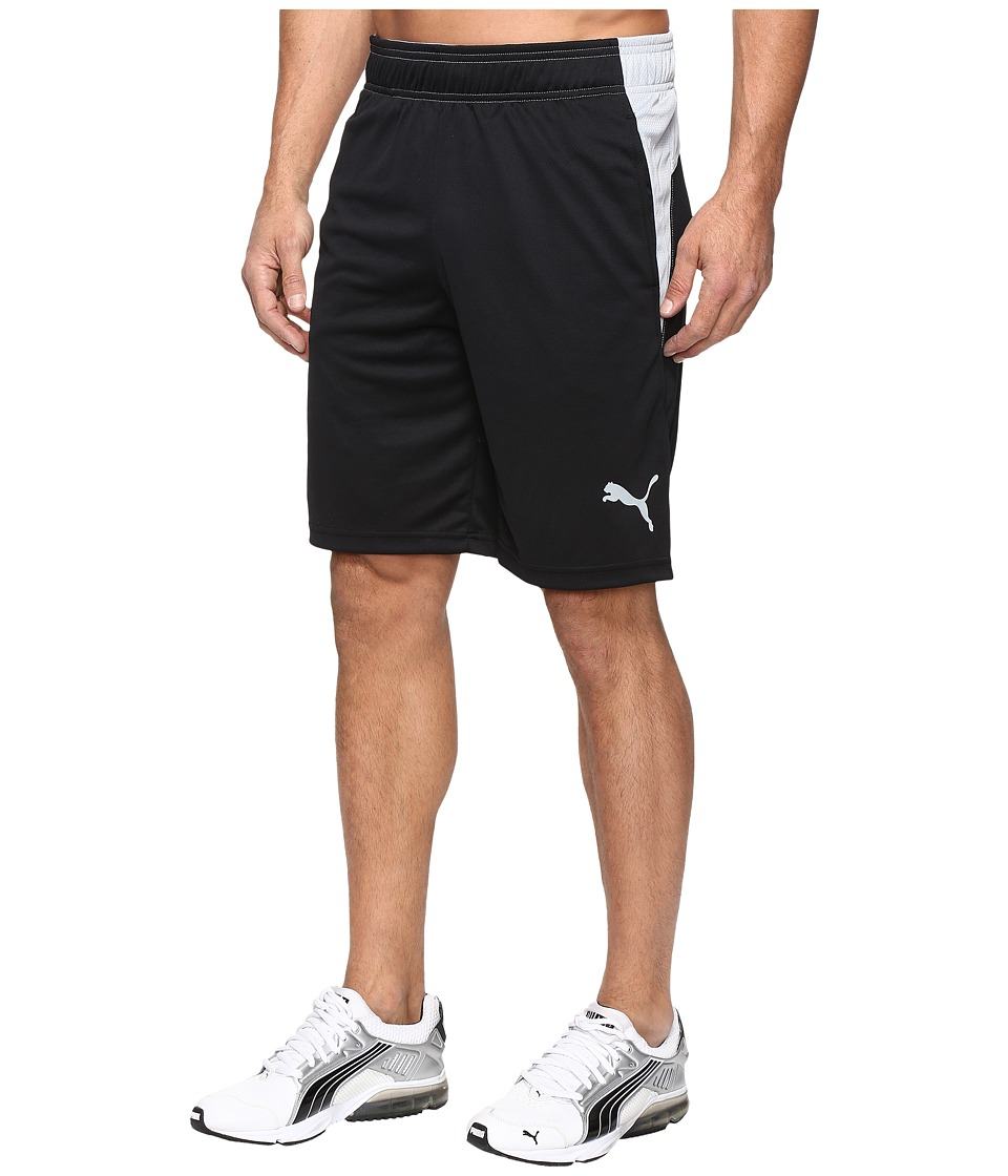 PUMA - Motion Flex Shorts (Puma Black/Quarry) Men's Shorts