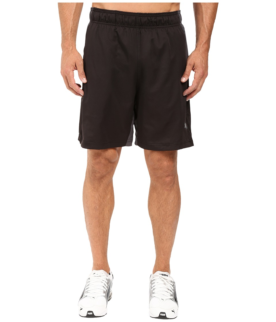 PUMA - Reps Woven 2-In-1 Shorts (Puma Black/Asphalt) Men's Shorts
