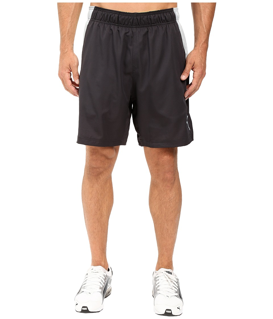 PUMA - Reps Woven 2-In-1 Shorts (Asphalt/Safety Yellow) Men's Shorts