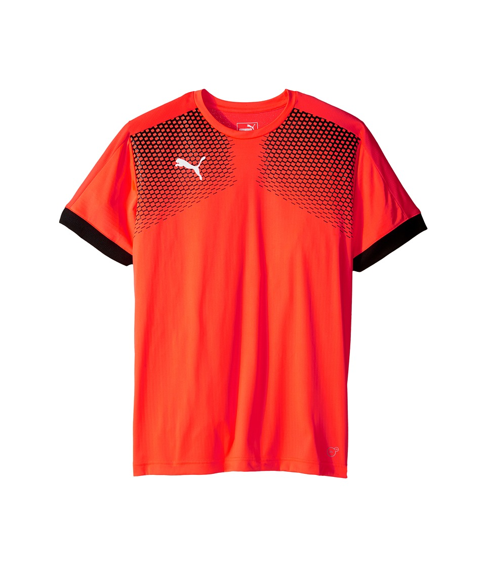 PUMA IT EVOTRG Graphic Tee Touch (Red Blast/Puma Black) Men