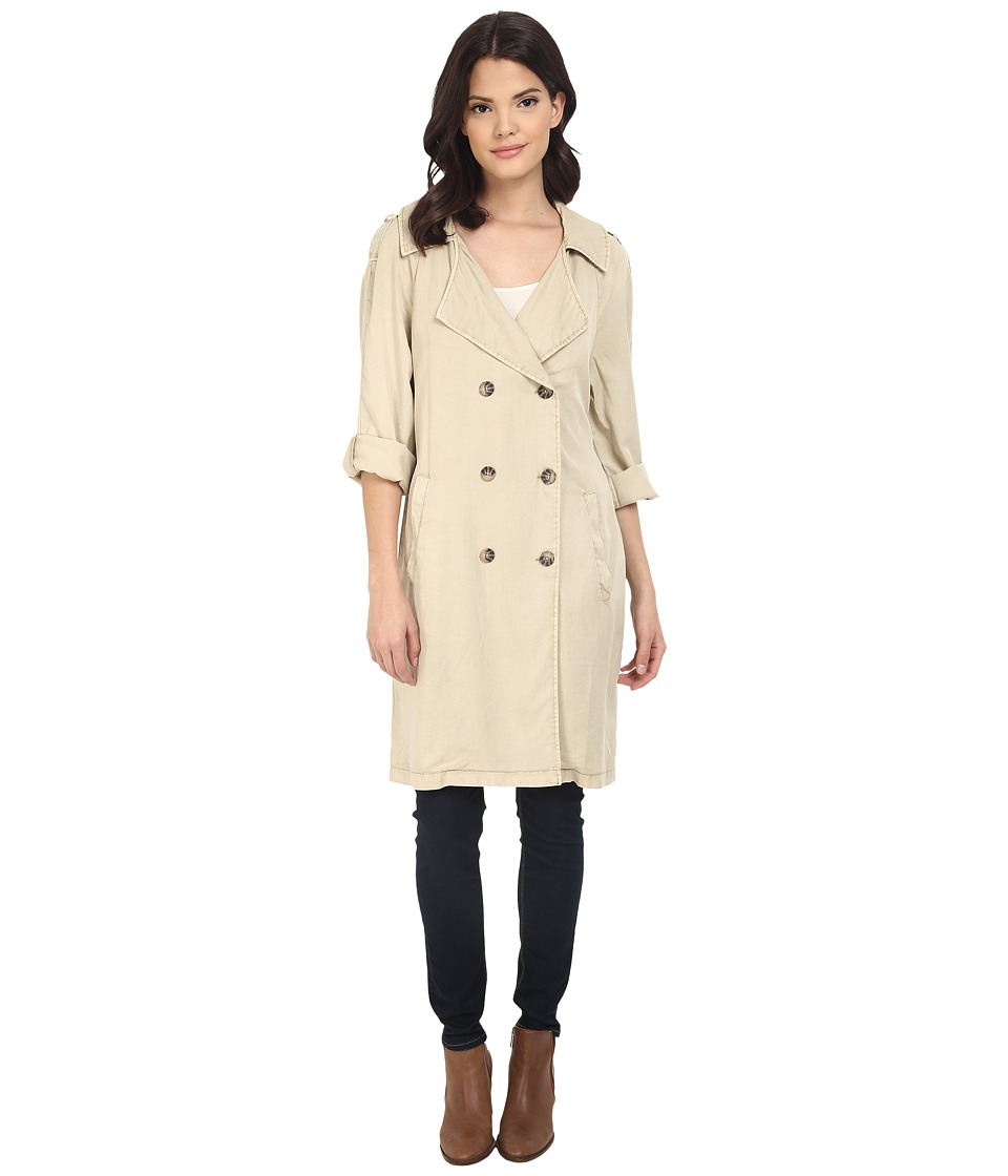 Sanctuary - Jane in Paris Trench Jacket (Real Khaki) Women's Coat
