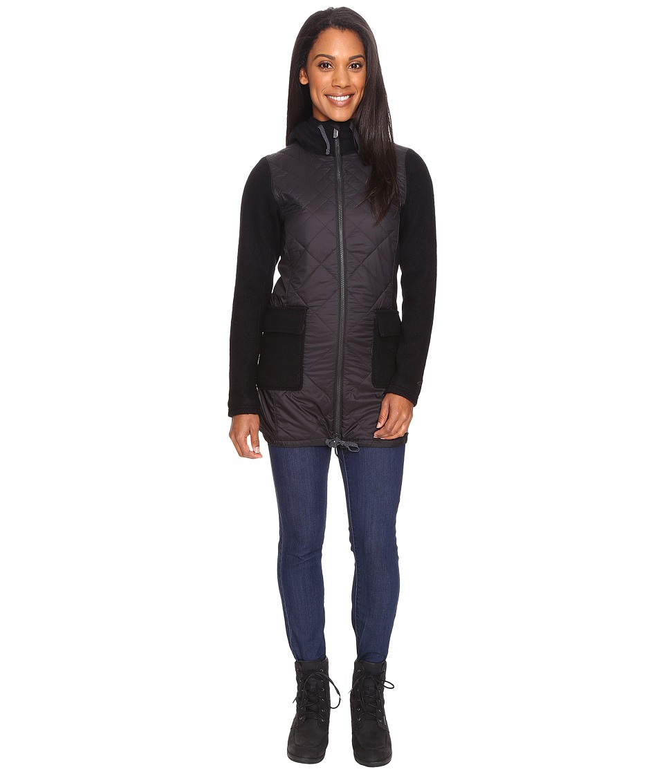 Icebreaker - Nomad Jacket (Black/Black/Black) Women's Coat