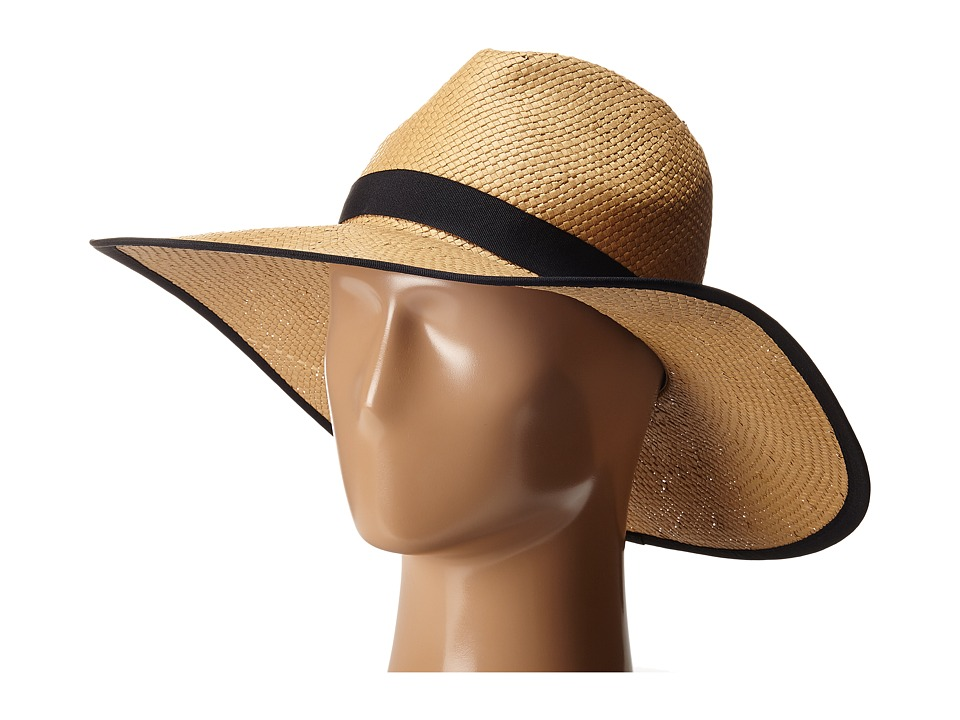 BCBGMAXAZRIA - Ribbon Floppy (Natural) Caps