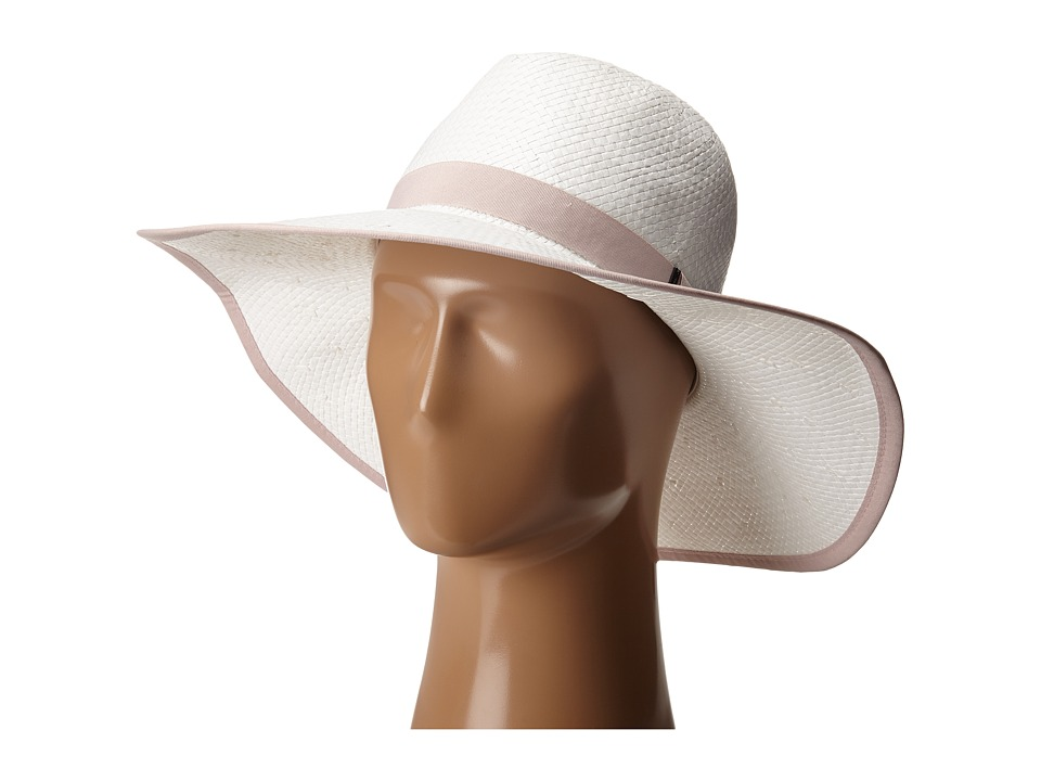 BCBGMAXAZRIA - Ribbon Floppy (White) Caps