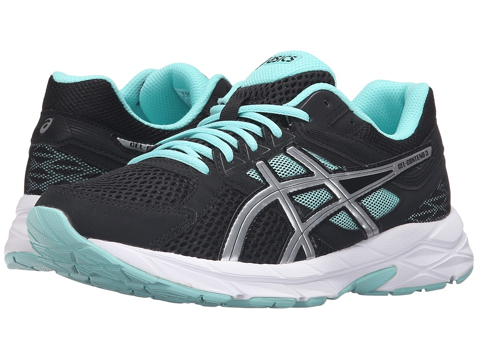 ASICS - GEL-Contend 3 (Black/Lightning/Blue) Women's Running Shoes