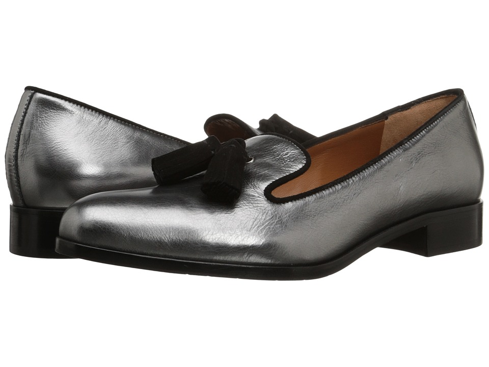 Aquatalia - Yara (Gunmetal Metallic Naplak) Women's Shoes