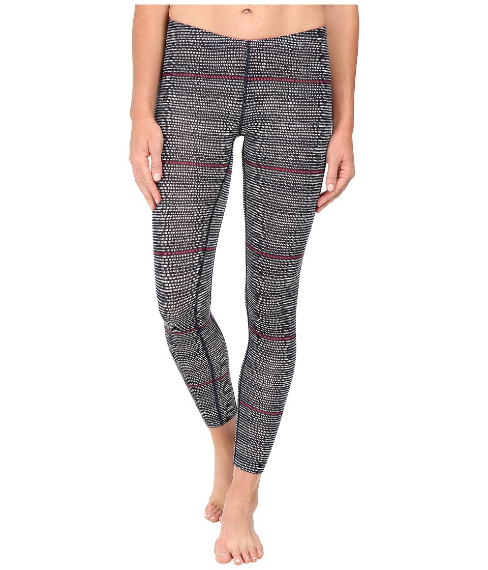 Icebreaker - Sprite Leggings Impulse (Admiral/Snow/Pop Pink) Women's Casual Pants