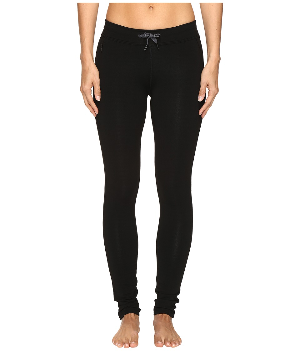 Icebreaker - Comet Tights (Black/Reflective) Women's Casual Pants