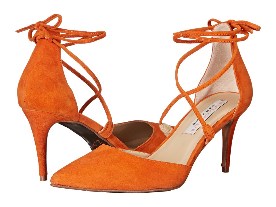 Kristin Cavallari - Opel Pump (Papaya Kid Suede) High Heels