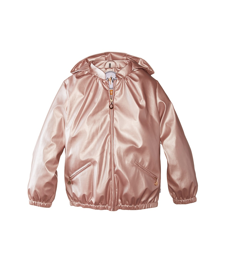 Oil & Water - Windsleek Rain Jacket (Toddler/Little Kids/Big Kids) (Rose Gold) Girl's Coat