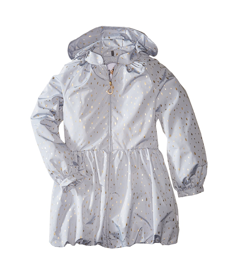Oil & Water - Windress Rain Jacket (Toddler/Little Kids/Big Kids) (Grey Rain) Girl's Coat