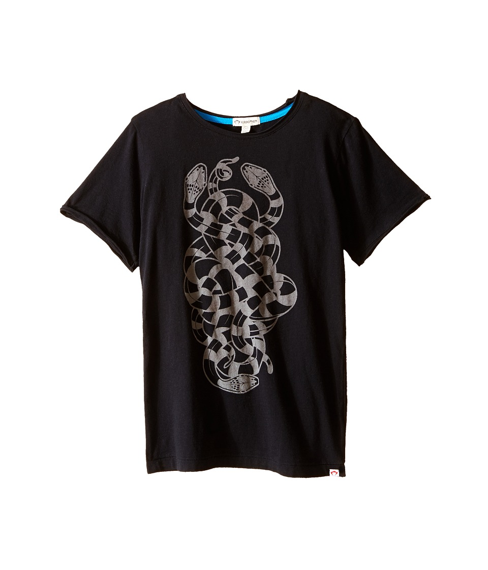 Appaman Kids - Super Soft Snakes Graphic Tee (Toddler/Little Kids/Big Kids) (Black) Boy's T Shirt