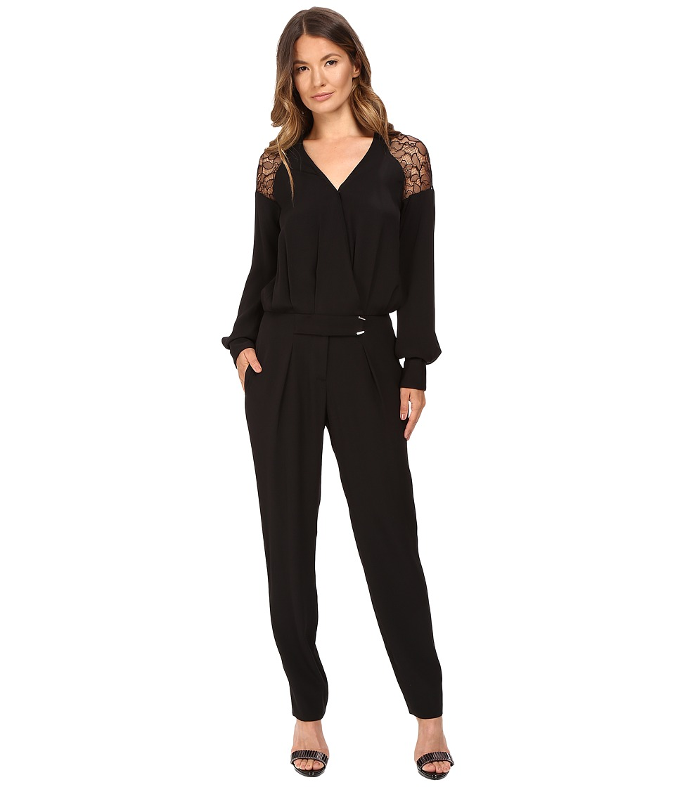 Prabal Gurung - Lace Jumpsuit (Black) Women's Jumpsuit & Rompers One Piece