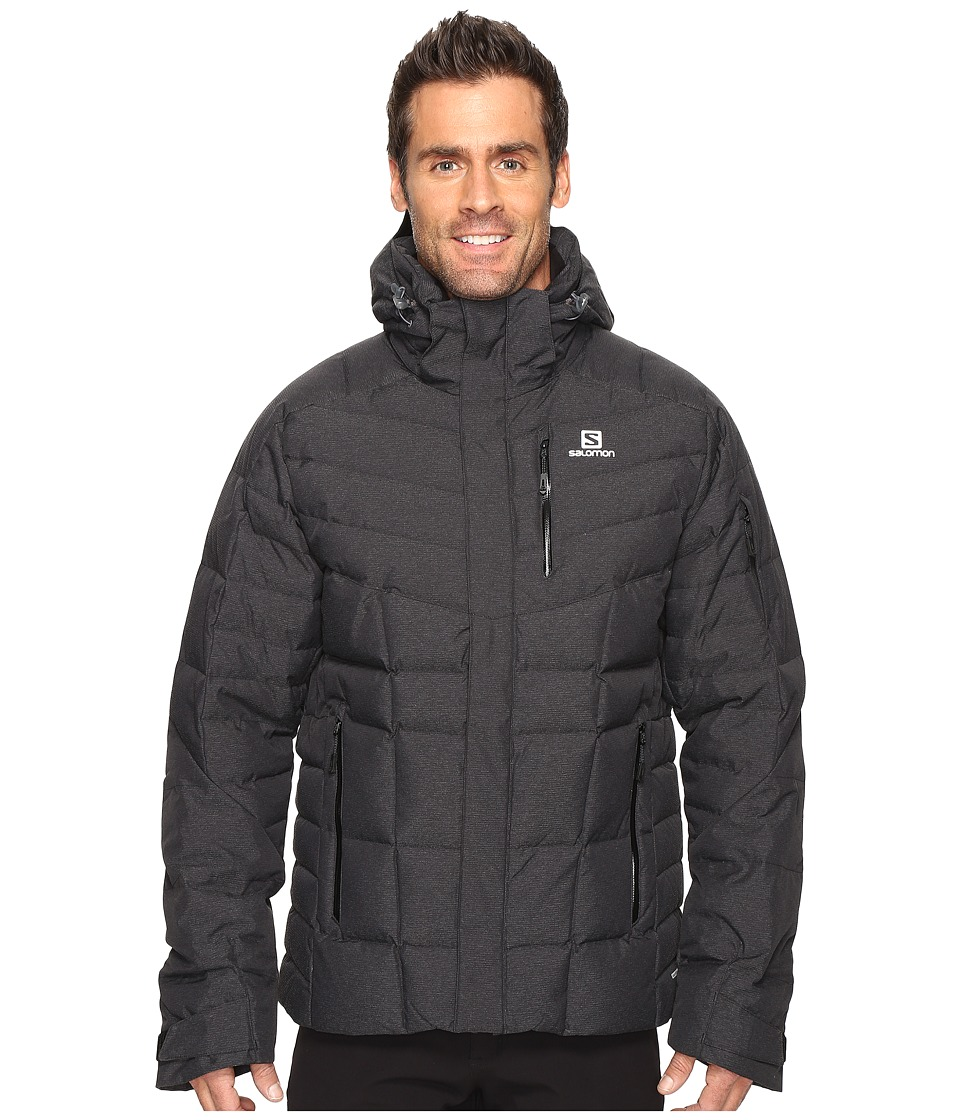 Salomon - Icetown Jacket (Black) Men's Coat