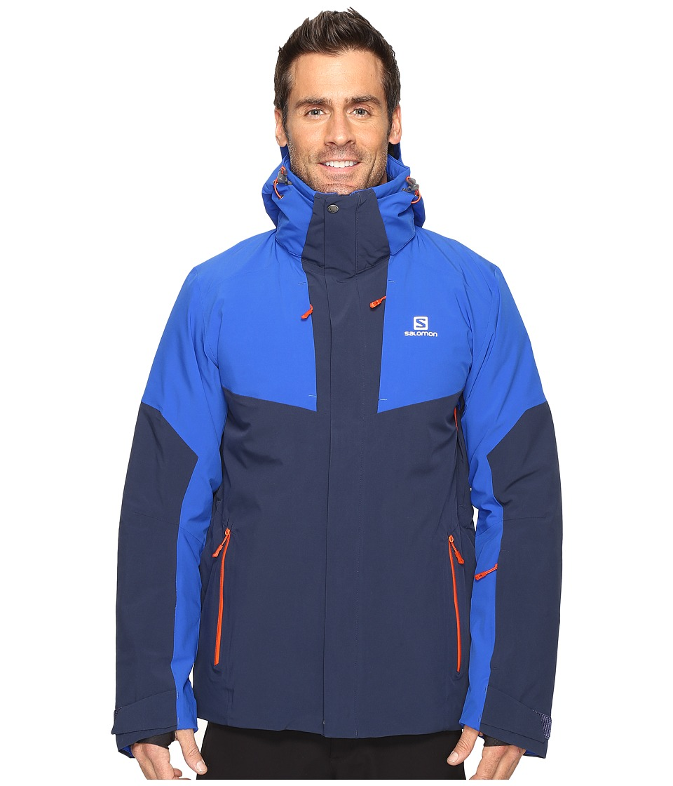 Salomon - Icerocket Jacket (Big Blue/X/Blue Yonder) Men's Coat