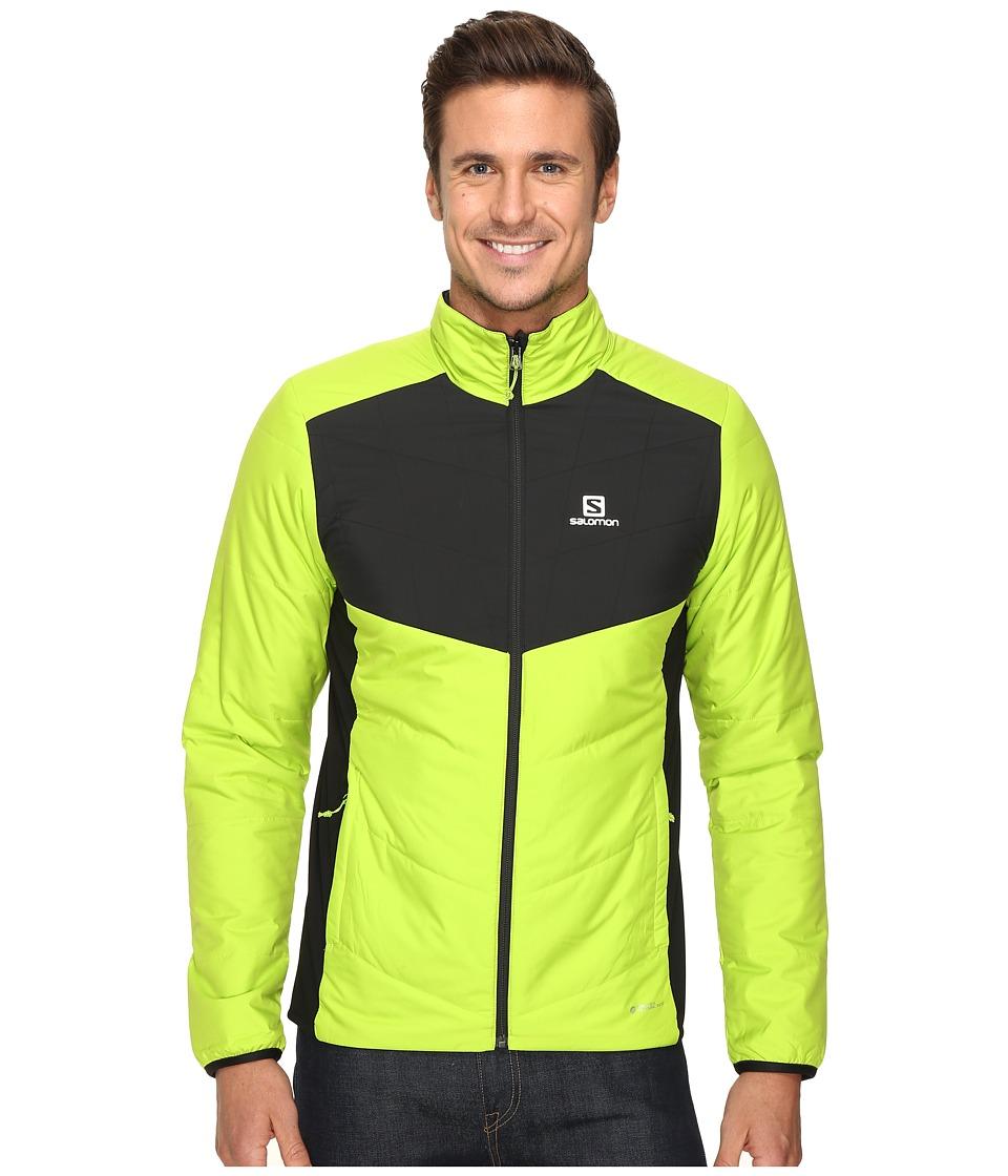 Salomon - Drifter Mid Jacket (Granny Green/Black) Men's Coat