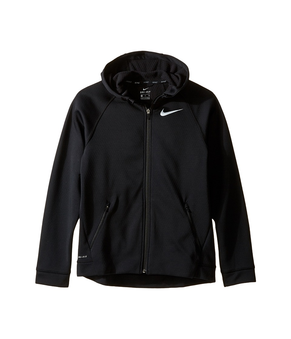 Nike Kids - Therma Sphere Jacket (Little Kids/Big Kids) (Black/Black/Wolf Grey) Boy's Coat